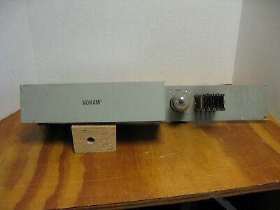 """Western Electric SD-60885-02 Monitor Amplifier with 101-F Tube 23"""" Rack Mount"""