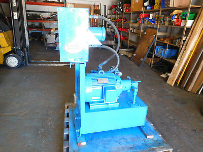 Vickers 7.5 HP 9 GPM Hydraulic Power Unit w/ Cooler