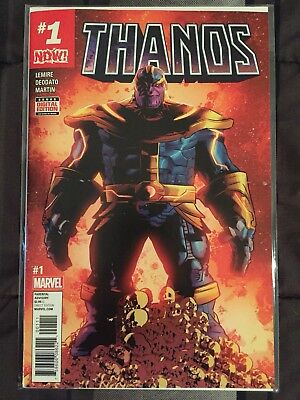 Thanos #1 First Print Jeff Lemire Marvel 2017 Infinity War VF/NM SOLD OUT L@@K!!