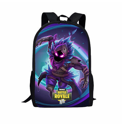 Fortress Battle Raven Skin 3D Printed Travel School Backpacks Boy Girl Bags 17""