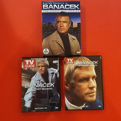 Banacek - The Complete Series with Pilot episode DVD 2008 5-Disc Set  Like New