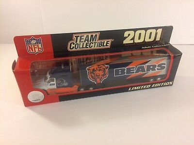 2001 White Rose Chicago Bears Collectible Semi Truck NEW
