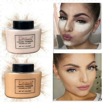New Fashion Woman Face Makeup Powder Silky Loose Setting Translucent Powder FGY