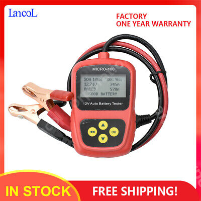 12V Car Battery Load Tester Battery Analyzer Detector MICRO-100 Diagnostic tool