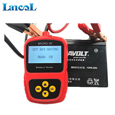Motorcycle 2-30Ah 12V Motorcycle Battery Tester battery Analyzer MICRO-30 AU