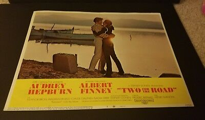 Two For The Road/ Orig 11X14 Lobby Card 7 Audrey Hepburn/albert Finney Excellent