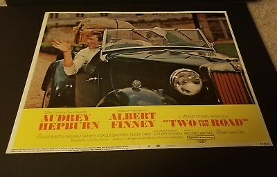 Two For The Road/ Orig 11X14 Lobby Card 4 Audrey Hepburn/albert Finney Excellent