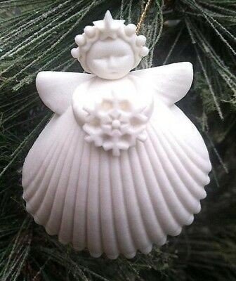 "Margaret Furlong 2"" Snowflake Angel Ornament BRAND NEW Free Shipping"