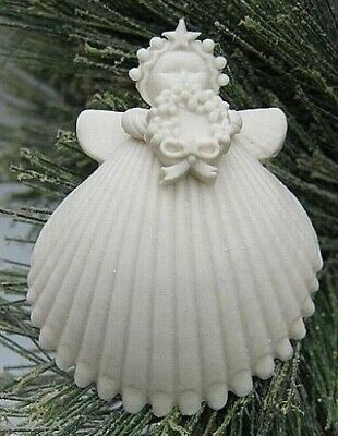 "Margaret Furlong 2"" Wreath Angel Ornament ""Forget-Me-Nots"" BRAND NEW Free Ship"