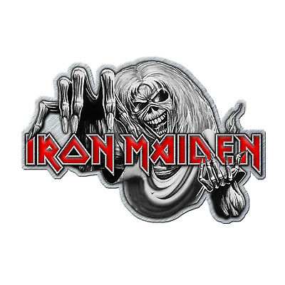 Iron Maiden Number of the Beast Metal Pin Button Badge Official Band Merch New