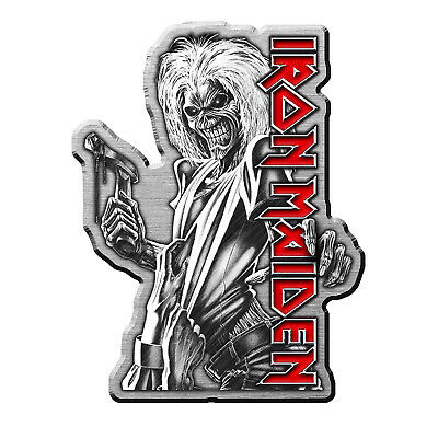 Iron Maiden Killers Metal Pin Button Badge Official Band Merch New