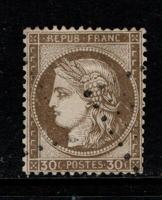 France 1870 30c brown SG 205 Used