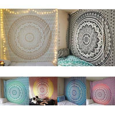 Indian Tapestry Hippie Mandala Wall Hanging Bohemian Bedspread Throw Dorm Decors