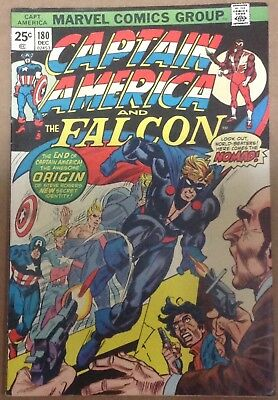 Captain America #180 First appearance of Nomad!
