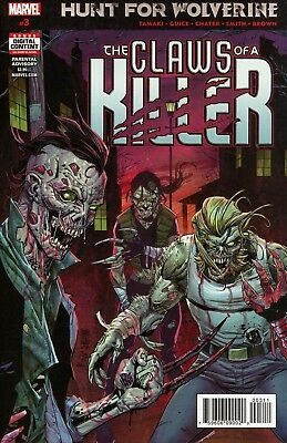 Hunt For Wolverine Claws Of Killer #3 (Of 4) Marvel Comics Near Mint 7/18/18