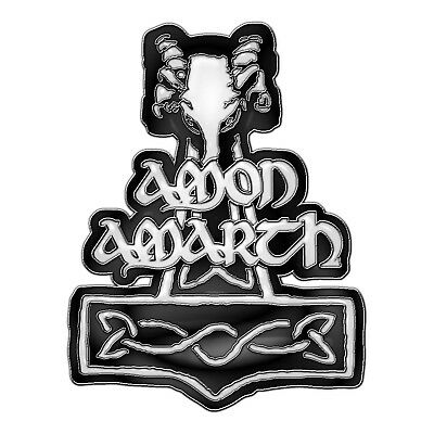 Amon Amarth Hammer Metal Pin Button Badge Official Metal Band Merch
