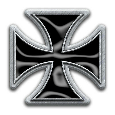 Iron Cross Metal Pin Button Badge