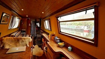 Narrowboat 50ft - Liveaboard - Excellent Condition - Beautiful Cruiser Stern