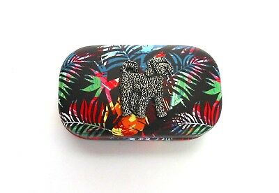 Cockapoo Dog Design Motif Contact Lens / Lipstick Case Mother Christmas Gift