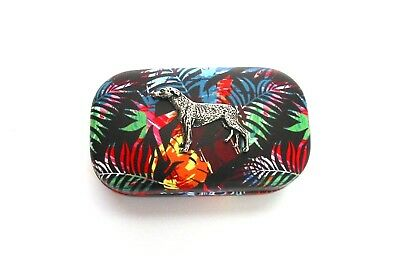 Greyhound Design Motif Contact Lens / Lipstick Case Mother Christmas Gift NEW