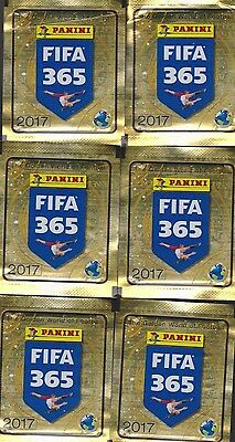 8 paquets 40 stickers FIFA 365 2017 PANINI image football FOOT