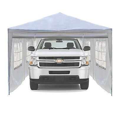 Garage Carport Canopy Tent 30x10 Portable Outdoor Event Shelter Wedding Party