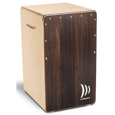 Cajon Schlagwerk 2inOne CP408ST Dark Oak Soft Touch Percussion NEU