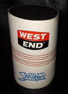 Rare Collectable West End Adelaide Strikers Cricket Ball Beer Stubby Holder