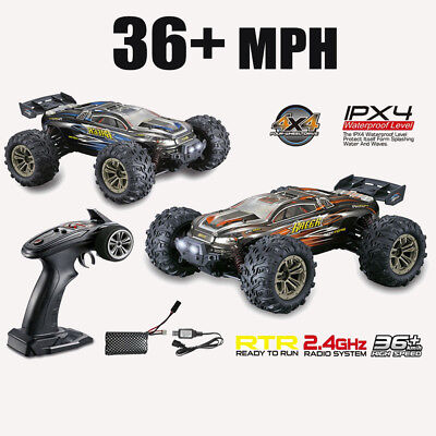 36+MPH High Speed 1/16 RC Truck 2.4G 4WD Remote Control Car Off-Road Truck RTR