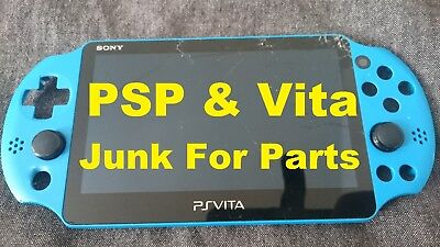 Sony Playstation PSP & PS Vita PSV console -Need Repair JUNK For Parts XMAS SALE