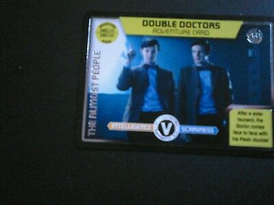 Dr who monster invasion ultimate card Double Doctor 451
