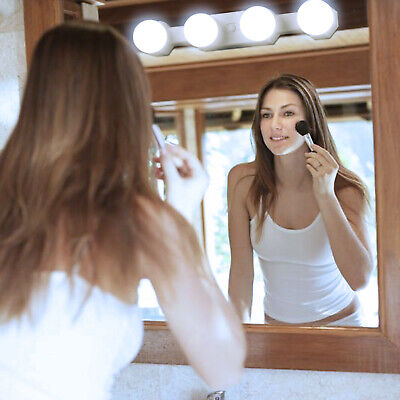 Makeup Vanity LED Mirror Light Kit Hollywood Mirror with Dimmable Light Bulb