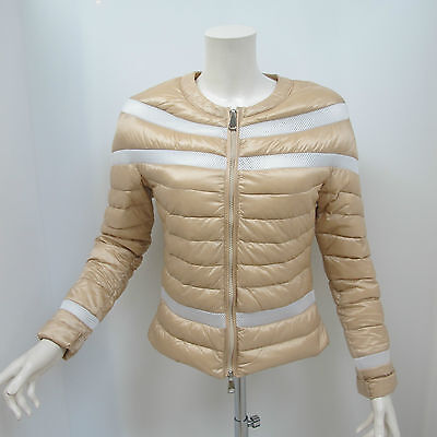 WITH LOVE giubbino donna mod.MARY col.BEIGE/BIANCO tg.M estate 2016