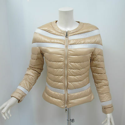 WITH LOVE giubbino donna mod.MARY col.BEIGE/BIANCO tg.XL estate 2016