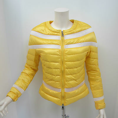 WITH LOVE giubbino donna mod.MARY col.GIALLO/BIANCO tg.S estate 2016