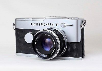 Olympus Pen F  FT + Zuiko 38mm f1.8 Excellent & fully working