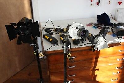 Dedolight Lighting Kit with  DP1 - Imager Projection Attachment and sundries