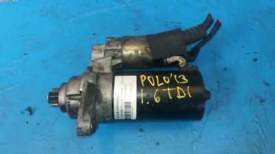 MOTOR ARRANQUE VOLKSWAGEN POLO Advance 2013 SB01021 508QSR 1086331