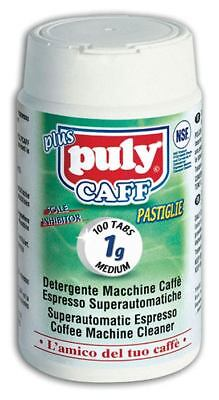 Puly Caff Plus Bean to Cup Coffee Machine Cleaning/Cleaner Tablets 100 x 1G TUB