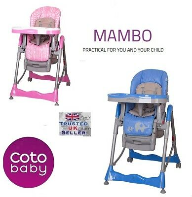 Cotobaby MAMBO High Chair baby HIGHCHAIR Infant Child Feeding Next Day Delivery