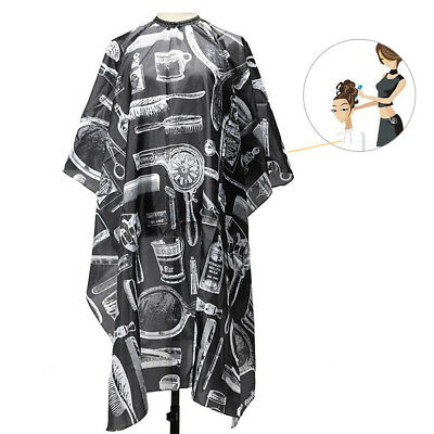 Salon Hair Cut Hairdressing Barbers Cape Gown Adult Hair Cutting Cloth Apron
