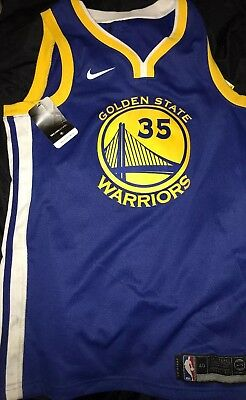 Nike KEVIN DURANT Icon Edition Jersey Golden State Warriors 864475-496 Size  S f567df63ec8