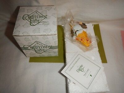 Charming Tails Snow Cone Limited Edition Ornament in Original Box w COA 2002