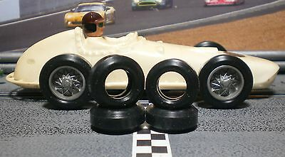 1/32 URETHANE SLOT CAR TIRES 2pr fit Eldon & Strombecker