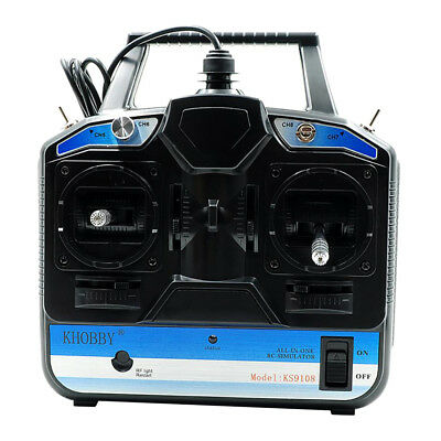 MagiDeal 18 in 1 Flight Simulator 8CH RC Drone Fly Training for Phoenix5.5
