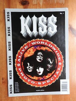 Kiss Alive Worldwide Photo-Special - English Edition