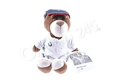 Genuine BMW Motorsport Teddy Bear 28cm Polyester Cotton DTM Racing Suit