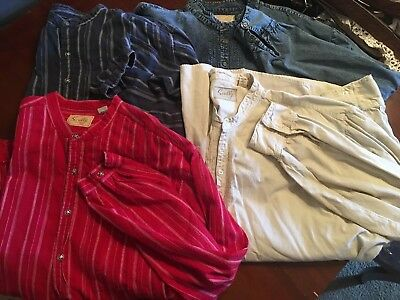 Scully Western Shirts. Lot Of 4 Size Xxl