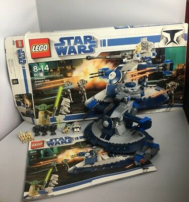 Lego Star Wars Armored Assault Tank Aat 8018 Yoda 100 Complete