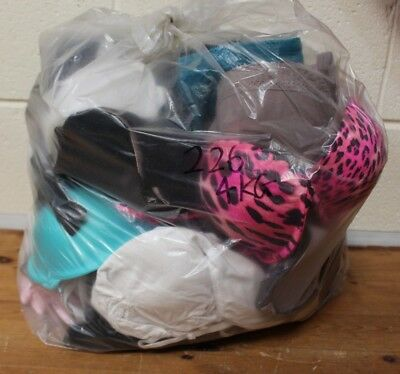 LARGE Job Lot of 4 KG of Womens BRAS Mixed Sizes and Styles Various Brands - 226
